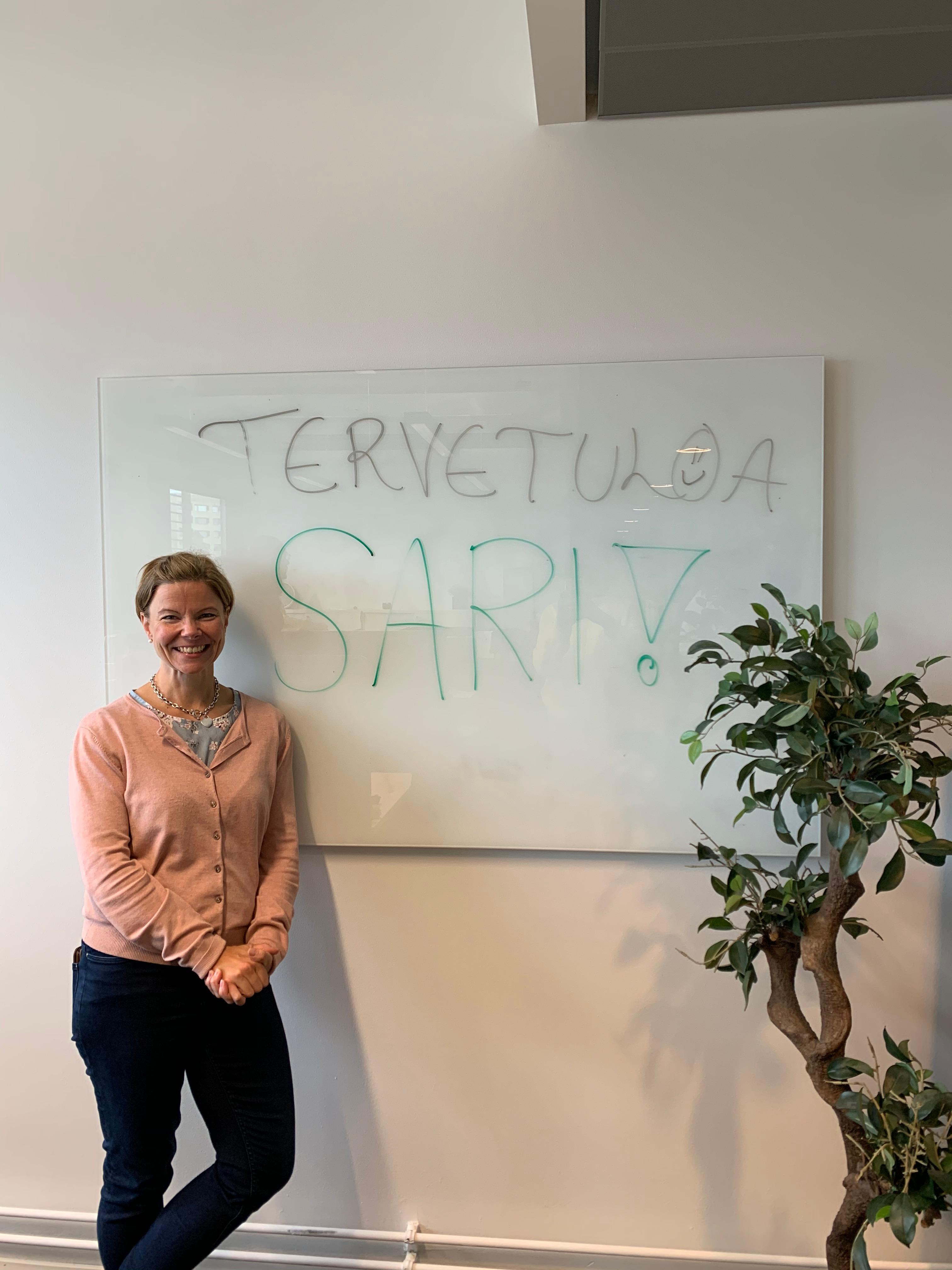 Sari Arolinna vahvistamaan Novetoksen valmentajajoukkoa!